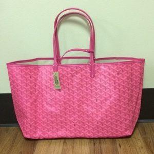 Hot Pink Goyard Tote